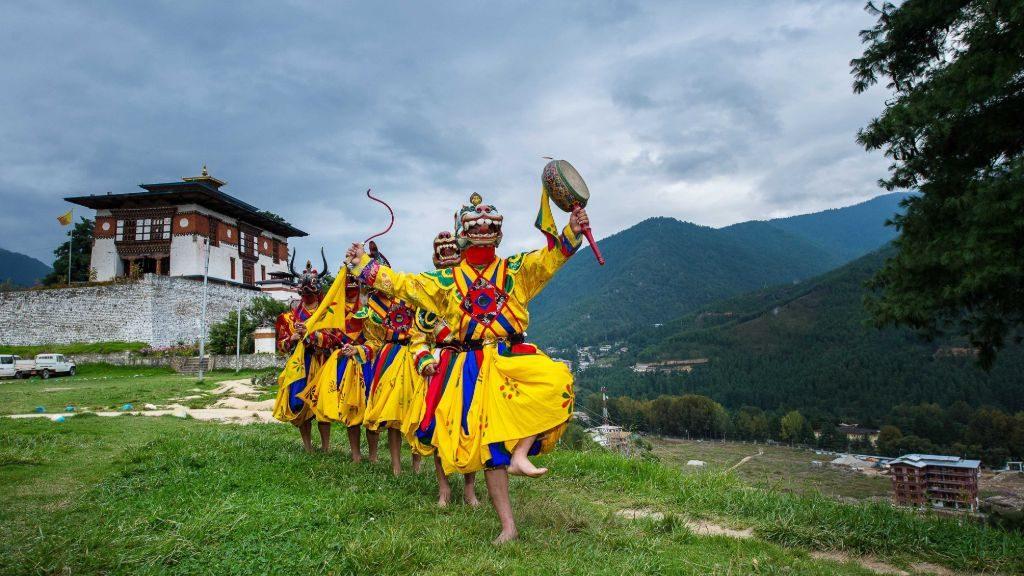 Thimphu Festival in Autumn