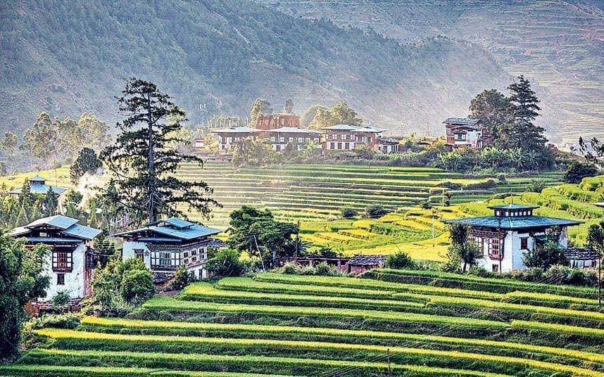 Bhutan Visit in Summer