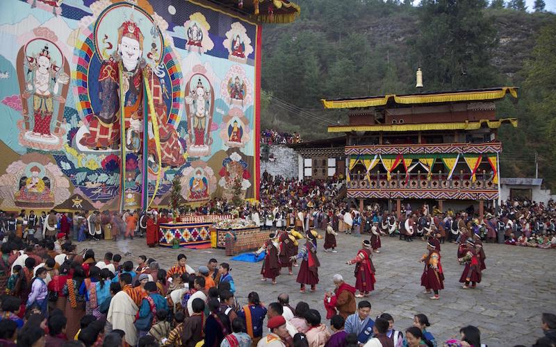 Spring Festival in Bhutan