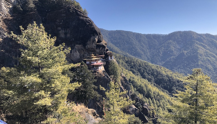 Tiger Nest Temple the most popular temple in Bhutan