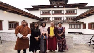 Group tour Bhutan