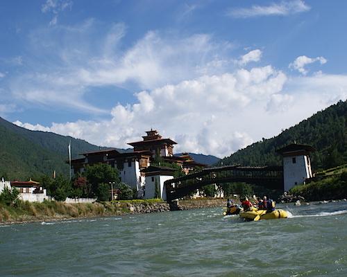 River Rafting at Punakha