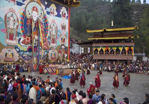 Gangtey Festival
